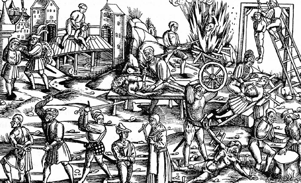 a history of torture and punishment in the elizabethan era