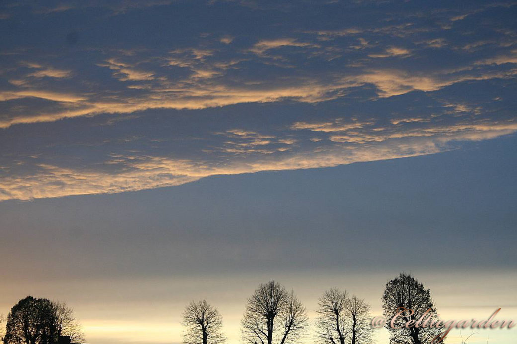 himmel wintersonnenwende